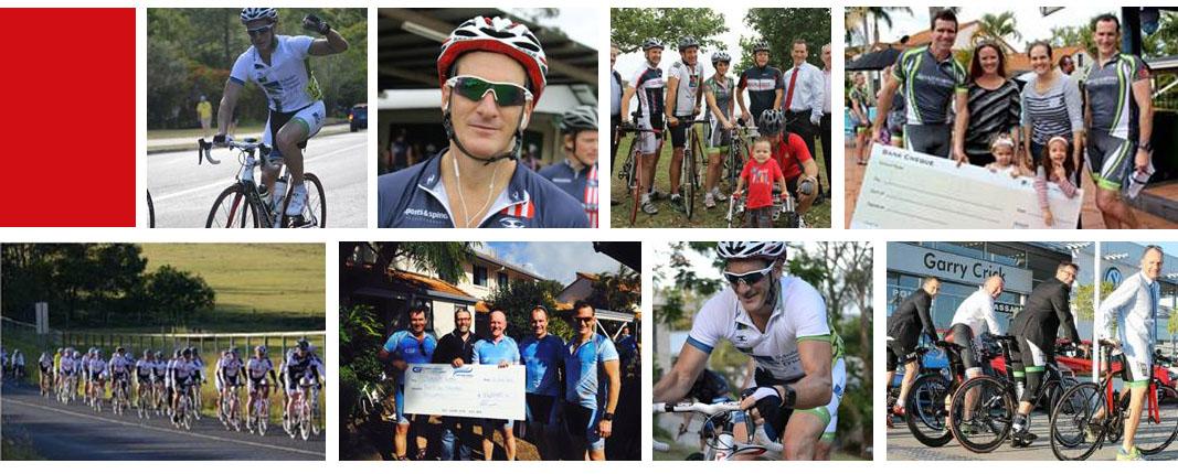 Charity bike rides
